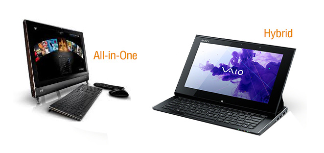 all-in-one and hybrid computer