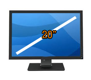 monitor size