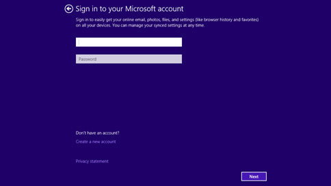 sign-in microsoft-account screen