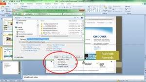 compress pictures ms powerpoint
