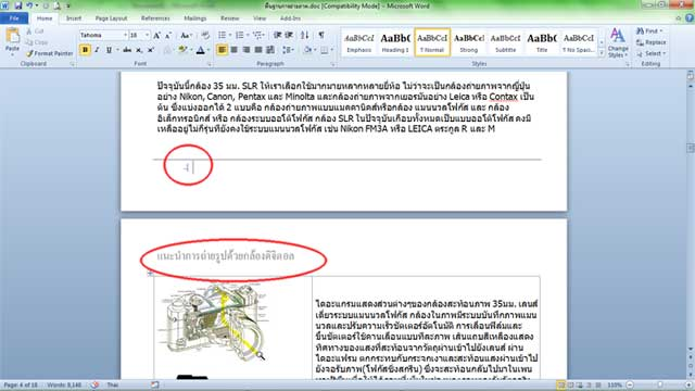 header footer ms word