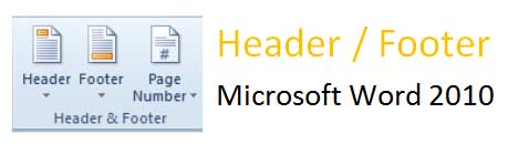 header footer microsoft word