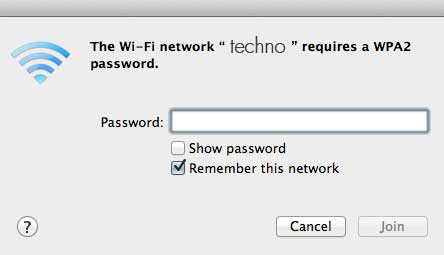 connect wifi mac