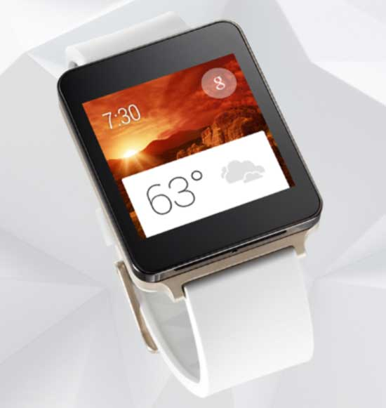 lg g watch gold