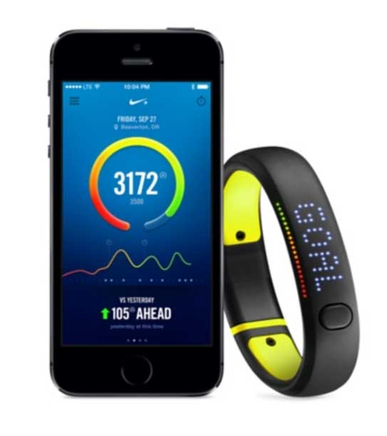 connect nike fuelband iphone