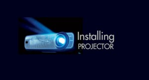 installing projector