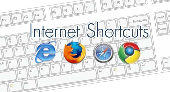 internet shortcuts