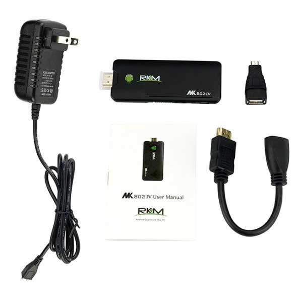 mini android tv box set