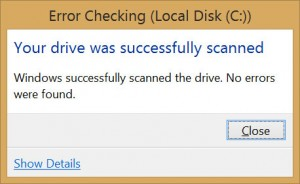 resulted error checking