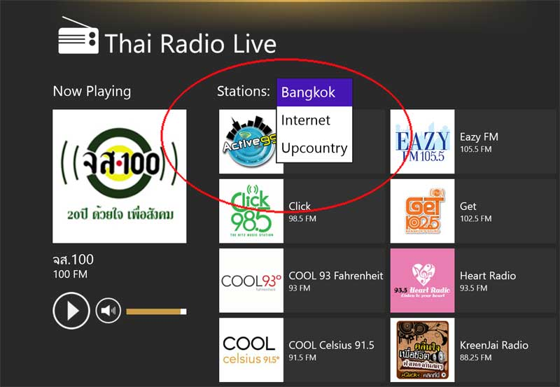 thai radio live stations