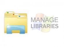 libraries windows 8