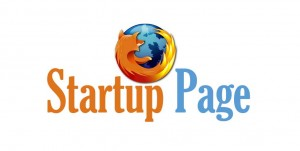 startup-page firefox