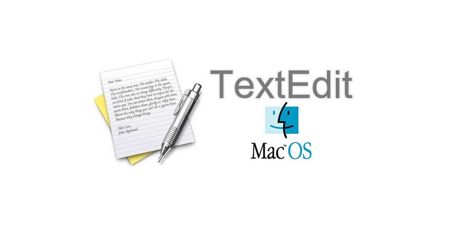 textedit mac os