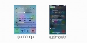 control and notification center