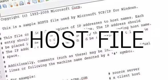 host_file windows