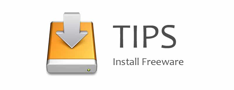 tips-install freeware