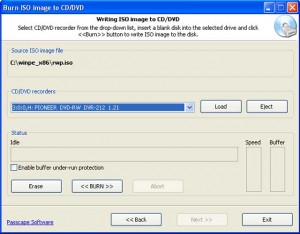 Creating bootable CD/DVD