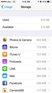 apple manage usage