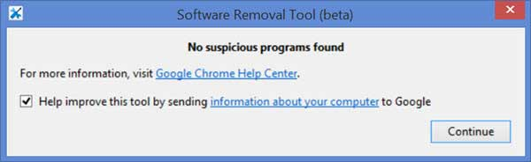 software remove tool chrome