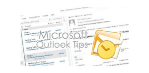 MS Outlook Tip