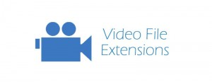 video file extensions