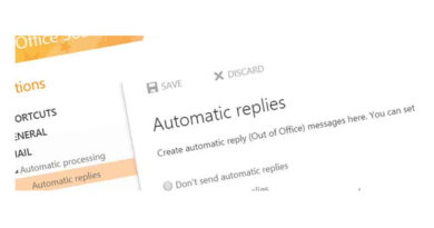 Auto-Reply Outlook