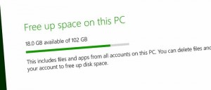 disk-space Windows 8