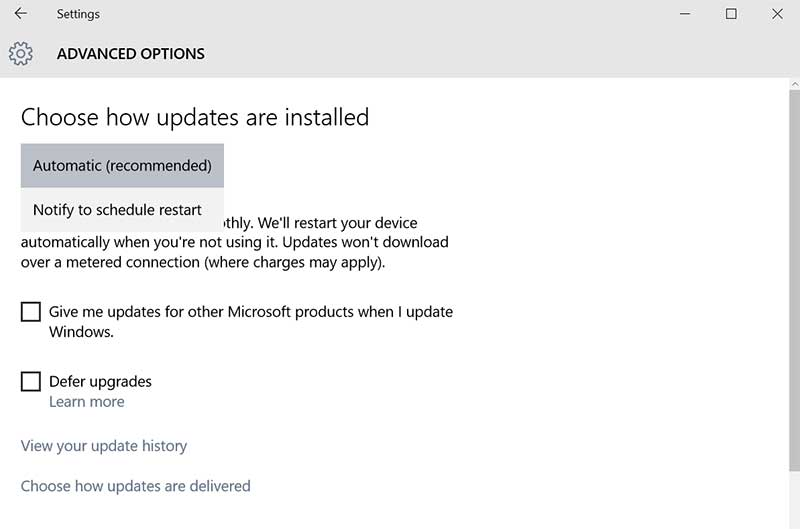 advanced_options Windows_update