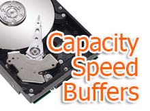 Capacity Speed Buffers