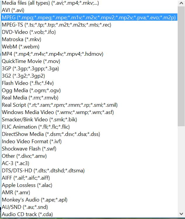 media_player suport files