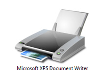 XPS document writer
