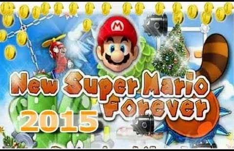 new super mario foreever 2015