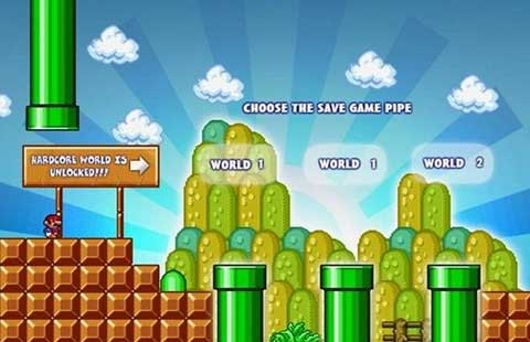 new super mario foreever_screen