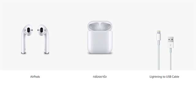 airpods inside box
