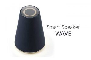 smart speaker wave