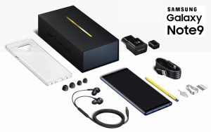 Samsung Galaxy Note9 unboxing