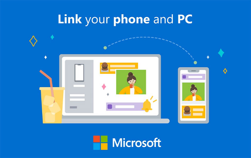 Link phone to PC