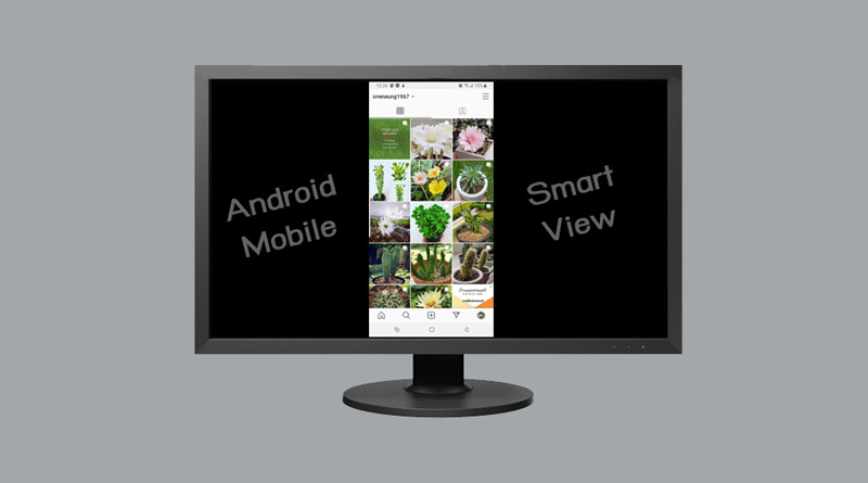 SmartView on TV