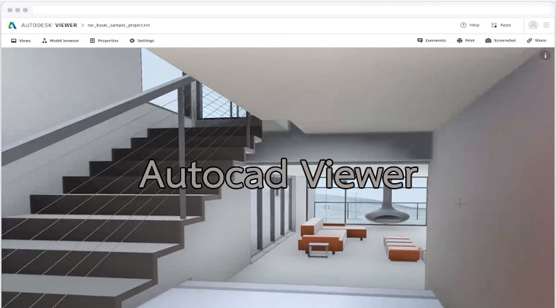 Autocad viewer